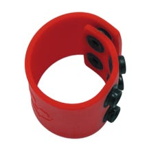 BONEYARD - Silicone Ball Strap red