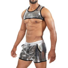 TOF Paris Broadway Harness silver Gr.M | SUPERSALE