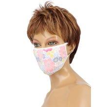 Community-Maske - Passion Cotton Cover Mask white/blue/pink/yellow
