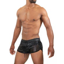 TOF Paris Centurion Shorts black Gr.S | SUPERSALE