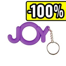 Shots Toys Cockring JOY purple