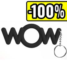 Shots Toys Cockring WOW black SUPERSALE