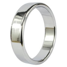 Wide Chrome Band Cockring 5,7 cm