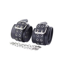 Handfesseln - Masters Of Instruments - Double Barrel Wrist Cuffs with Iron Chain