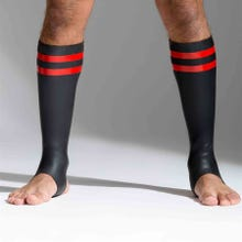 Neoprene Socks black/red tall - Unisize - S - L
