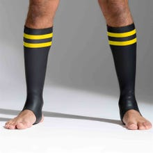 Neoprene Socks black/yellow tall - Unisize - S - L