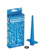Anal / Vaginal Duschaufsatz Water Clean Spike blau