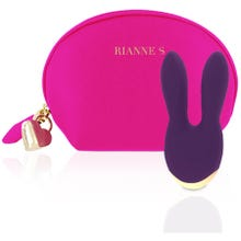 11 x 5 cm RIANNE S - Essentials - Bunny Bliss deep purple - Akku Power