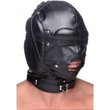 STRICT - Bondage Hood with Breathable Ball Gag