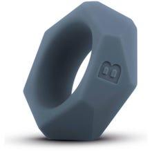 Boners - Penisring Diamond Silikon grau