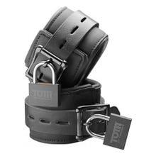 Tom of Finland Neoprene Wrist Cuffs black - Handfesseln