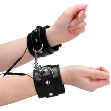 Electroshock Handcuffs black