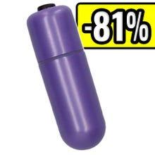 6 x 1,9 cm Eromeo - Mini Rainbow Bullet - purple SUPERSALE