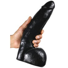 29 x 6,2 cm ASS ANGELES Dildo Montebello black
