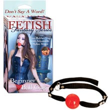 Fetish Fantasy - Beginners Ball Gag red