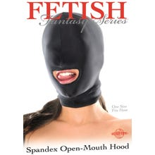 Fetish Fantasy - Open Mouth Hood Spandexmaske