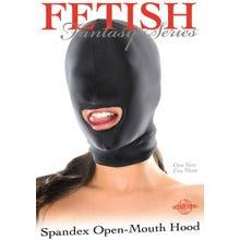 Fetish Fantasy - Open Mouth Hood Spandexmaske