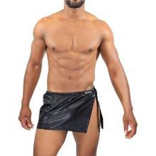 TOF Paris Gladiator Skirt Black