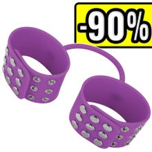 - OUCH Silicone Cuffs purple SUPERSALE