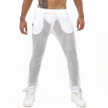 TOF Paris Ibiza Mesh Pants white | SUPERSALE
