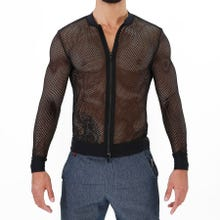 TOF Paris Ibiza Mesh Vest black-S | SUPERSALE