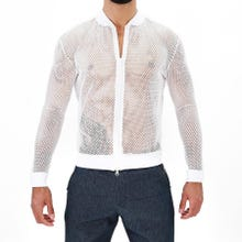TOF Paris Ibiza Mesh Vest white | SUPERSALE