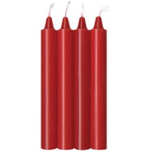 Icon Brands Make Me Melt Sensual Candles 4er Pack red