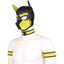 RudeRider Neoprene Puppy Hood yellow