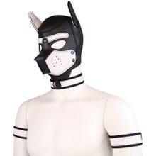 RudeRider Neoprene Puppy Hood white