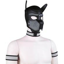 RudeRider Neoprene Puppy Hood grey