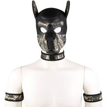 RudeRider Neoprene Puppy Hood camouflage