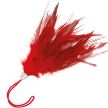 Darkness Feather 17 cm red