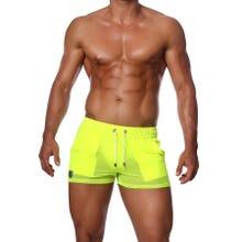 TOF Paris Happy Neon Shorts neon yellow