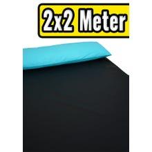 ORGY-Spannbettlaken Schwarz 2 x 2 m