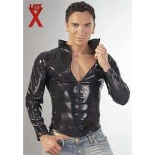 Latex-Shirt mit Zip