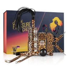LoveBoxxx - Secret Pleasure Chest - Wicked Wildcat - BDSM Box leopard