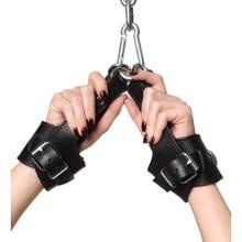 Strict Leather - Fleece Lined Suspension Cuffs - Handfesseln - black