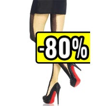 Leg Avenue Pantyhose Net Two-Tone Duel black/neon green Gr.S-L SUPERSALE
