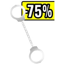 OUCH Beginners Legcuffs white SUPERSALE