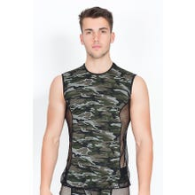 Herren Shirt LookMe Military camouflage
