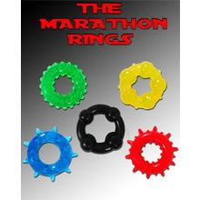 MARATHON Rings 5er Cockring-Set