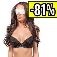 Augenmaske - Weiß - Supersale