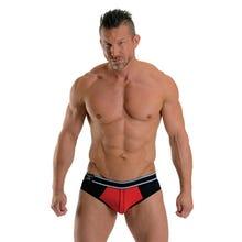 URBAN Soho Jock Brief red/black Gr.XL | SUPERSALE