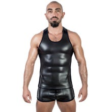 Neoprene Tank Top black