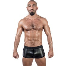 Neoprene Shorts 3 Way Full Zip black