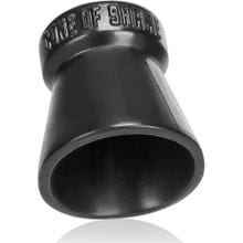 Oxballs Cone of Shame Chastity Device black
