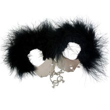 Handschellen Adrien Lastic Menottes plumes Handschellen black