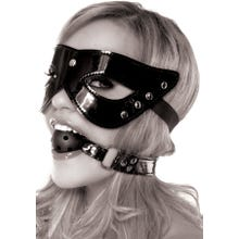 Fetish Fantasy - Masquerade Mask and Ball Gag black