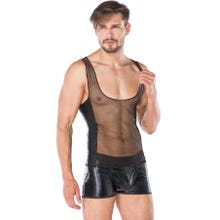 Herren - Wetlook-Set - schwarz