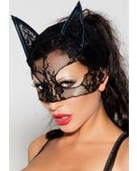 MeSeduce Katzenmaske MK 04 schwarz